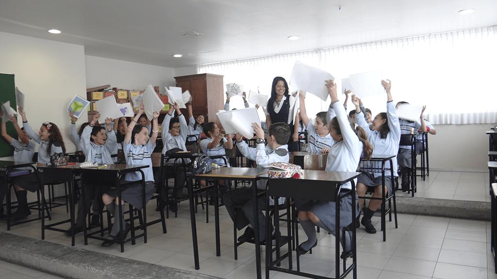 Colegio Nuevo Continente-Salón de Clases